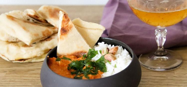 Plán výběru koření na indický oběd