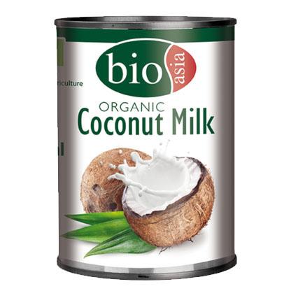 Kokosové mléko BIOASIA 400ml