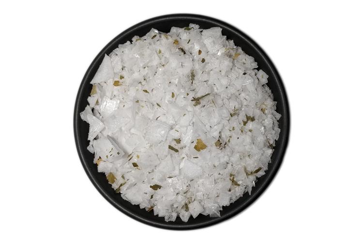 Mořská sůl s medvědím česnekem (100g) (Mořská sůl z Kypru)